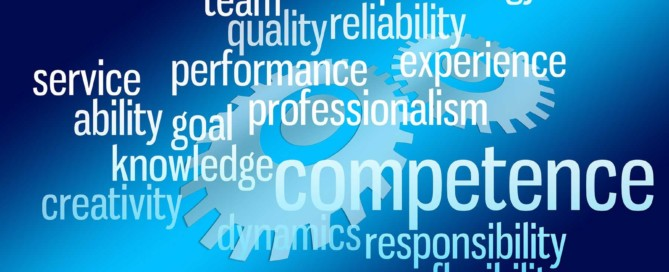 Word Graphic - Competence, Performance, Team, Dynamics
