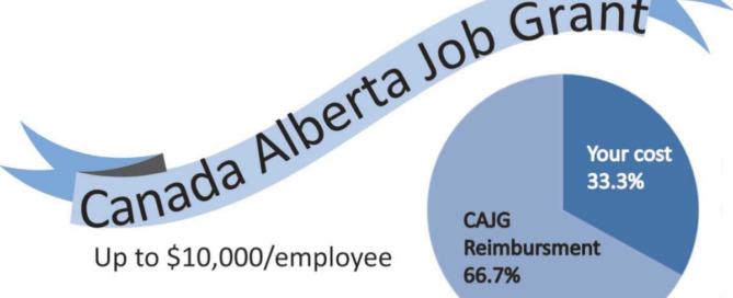 Canada Alberta Job Grant graphic
