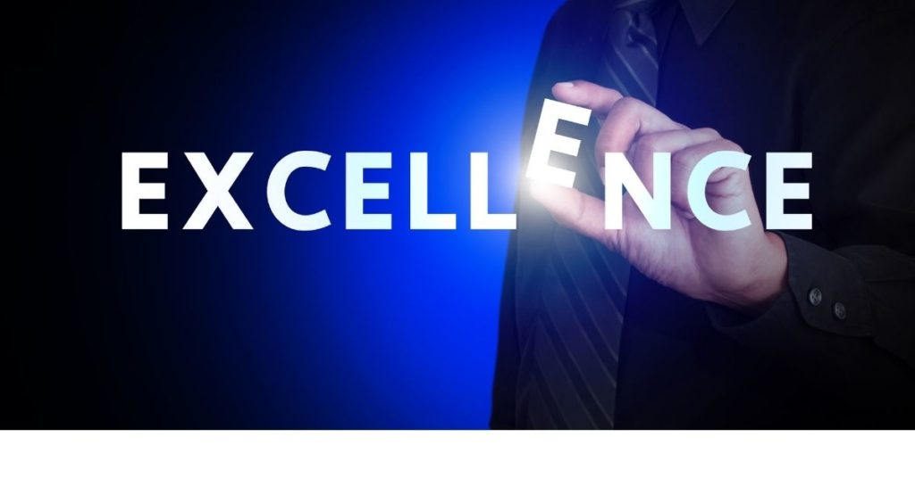 Excellence word image
